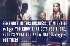 Love this quote from @dkny pr girl