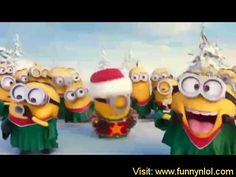 The minions took a little time out from evil doing to wish you a ...