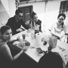 Le #dejeuner en #été avec #cohome chez @idile_magazine ! #freelance #pausedej