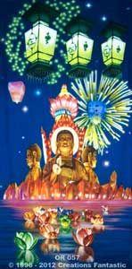 Backdrop OR057 Oriental Celebration Panel 3