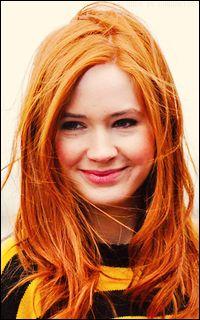 Karen Gillan A68e4bbe40e3ccc28d7a20f0cf60d332--black-hair-red-hair