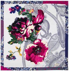 Pierre Cardin Scarf 2012-13 Fall / Winter -- www.akeronline.com --   #scarf  #pierrecardin  #aker  #esarp  #hijab  #fashion  #silk  #scarves