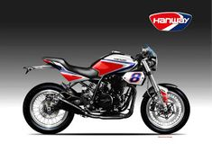Motosketches: HANWAY EIGHTWONDER 450 Classic Series, Motorcycle Design, Sport, Vehicles, Beautiful, Motorbikes, Deporte, Excercise, Rolling Stock