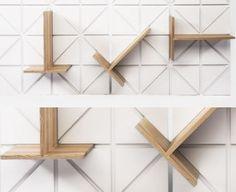 Modular shelving by Johannes Herbertsson & Karl Henrik Rennstam