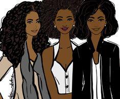 tiffaniandersonillustration:  Me & My Sisters