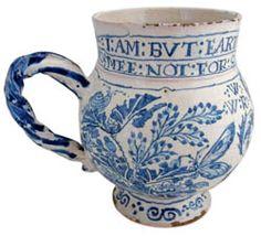 17th century chinoiserie tankard - Google Search