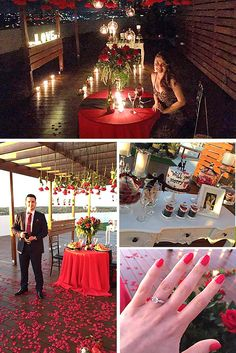 Romantic Proposal Ideas So That She Said Yes ❤ See more: http://www.weddingforward.com/romantic-proposal-ideas/ #weddings