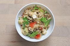 taboule_quinoa Real Food Recipes, Vegetarian Recipes, Healthy Recipes, Healthy Food, Pasta Salad, Cobb Salad, Salty Foods, Food Inspiration, Salads