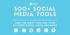 500 social media tools