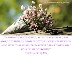 Ephesians 1:13 KJV