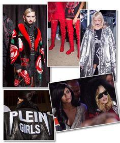 """#AboutLastNight: queridinho das celebridades @philipppleininternational causou comoção noite de segunda-feira (13) não somente por reunir nomes como @madonna @kyliejenner @parishilton @nickyhilton o rapper @nas e a dupla @thekills (que se apresentaram em plena passarela armada na biblioteca de Nova York) na @nyfw. Seu desfile de inverno 2018 também veio repleto de peças-desejo que seguem o mood street tão cobiçados pelos fashionistas atualmente  casacos metalizados """"espaciais"""" jaquetas de…"""