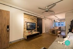 12 3-Room HDBs With Ingeniously Large Layouts | Article | Qanvast | Home Design, Renovation, Remodelling & Furnishing…