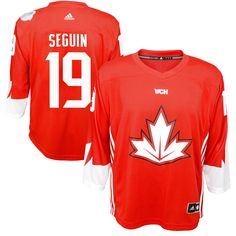 Tyler Seguin Canada Hockey adidas Youth World Cup of Hockey 2016 Replica Player Jersey - Red - $55.99