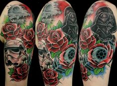 I want something similar to this on my right arm.  Love love love.