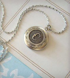 Custom Monogram Locket