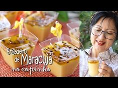 BRIGADEIRO DE MARACUJÁ NO COPINHO | RECEITAS DE FESTA | DIKA DA NAKA - YouTube La Girl, Cupcake, Cereal, Container, Breakfast, Desserts, Food, Youtube, Cupcakes