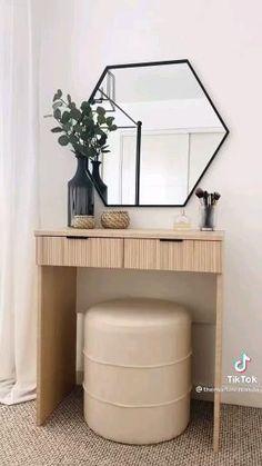 Diy Furniture Renovation, Furniture Projects, Furniture Makeover, Home Projects, Home Crafts, Diy Home Decor, Home Organization, Home Interior Design, Room Inspiration
