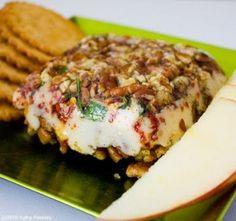 Vegan Cheese Log Appetizer