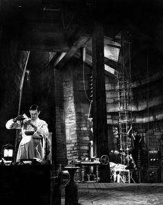 "Inside Frankenstein's Laboratory ~ ""Frankenstein"" (1931)"