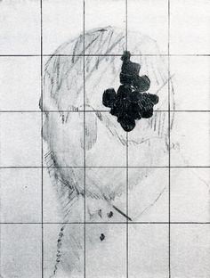 Gerhard Richter - Portrait Günther Uecker