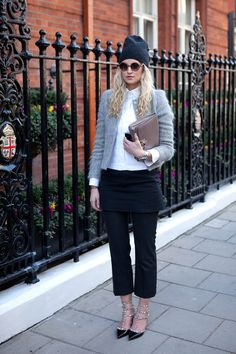 El street style de London Fashion Week Otono 2013 #Streetstyle