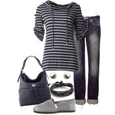 My comfy style by lovelyingreen on Polyvore