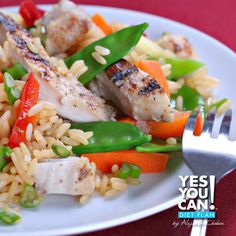 Yes You Can Diet Plan Chinese Rice Lunch Recipe