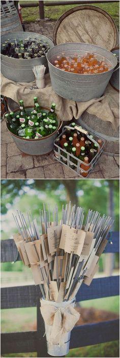 rustic country bucket wedding ideas #weddings #weddingideas #dpf #deerpearlflowers #countrywedding #country #rusticwedding