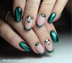 Oooh, I am IN LOVE with this look! #gogreen