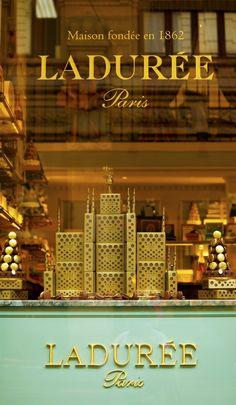 Ladurée luxury cakes, pastries & macarons ~ Paris
