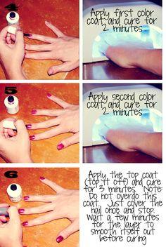 DIY Gel Nail Tutorial - Twist Me PrettyTwist Me Pretty