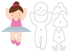 Keçeden Oyuncak Bebek, Yapımı, El Yapımı Keçe Bebek Nasıl Yapılır, Keçe Oyuncak Kalıpları - KadinSayfasi.com