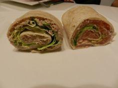 Dans ma cuisine - Wraps au thon et au saumon fumé