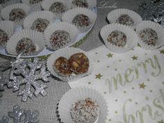 Lenka blogja: Amarettis csokigolyók