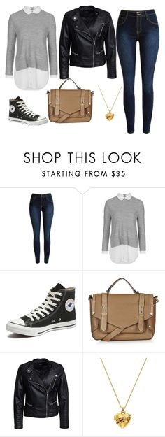 """""""Untitled #189"""" by jessee-97 on Polyvore featuring Topshop, Converse, Sisters Point, Juicy Couture, women's clothing, women's fashion, women, female, woman and misses"""