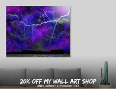 Discover «Angry Skies», Limited Edition Aluminum Print by Glink - From $65 - Curioos