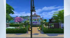 Sieh dir dieses Grundstück in der Die Sims 4-Galerie an! - Bunter Stadt-Park für alle Anlässe                                                        #nathalie #nat052970 #unseresimswelt #bunterpierpark #sanmyshuno #nocc #fun #park #lisizeigtvor                                      http://unsere-simswelt.de