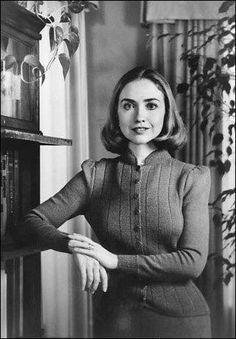 Den unge Hilary Clinton