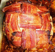 Bacon wrapped pork loin roast   Buen Provecho Enjoy Your Food Gluten Free
