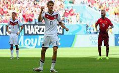 Mundial 2014. Alemania 4-0 Portugal.