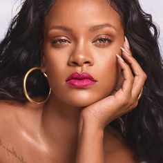 Bnib Fenty Beauty By Rihanna Mattemoiselle Plush Matte Lipstick - Candy Venom Rihanna Fenty Beauty, Rihanna Makeup, Rihanna Riri, Rihanna Style, Rihanna Music, Lipstick Shades, Matte Lipstick, Lipsticks, Rihanna News