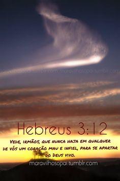 Hebreus, heart, mau, infiel, unfaithful, bad, hebrews,
