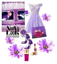 """Sin título #131"" by lilydeluxe on Polyvore featuring moda, Rolex, Yves Saint Laurent, Carlo Zini, Kobelli y Jimmy Choo"