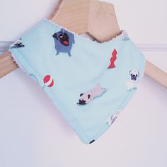 Shop for on Etsy, the place to express your creativity through the buying and selling of handmade and vintage goods. Dog Mints, Bandana Bib, Baby Bibs, Mint Green, Pugs, Christmas Stockings, Bamboo, My Etsy Shop, Trending Outfits
