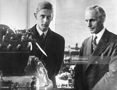 Principele Nicolae (Nicky) în vizită la Uzinele Ford, Detroit. Cu Henry Ford. Henry Ford, Ferdinand, Eastern Europe, Queen Anne, Detroit, Che Guevara, Daughter, Descendants, History