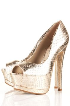 Serenade 2 Peep Toe Platform Shoes