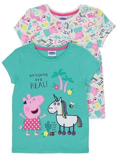 167008fde9f17 Peppa Pig Clothing Online: Peppa Pig Unicorn Pyjamas – Novelty ...