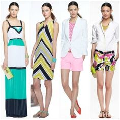 NEW YORK, MAY 30th, 2013 - Today was officially launched the exclusive MILLY capsule collection  for Banana Republic.   Inspired by the summer sophistication of the Hamptons, the Banana Republic Milly Collection marries the iconic BR sense of modern style