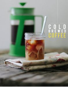 Daily Grind // Cold Brewed Coffee