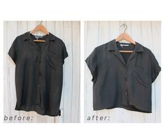 DIY Crop Top Shirts : DIY Crop Top Shirts